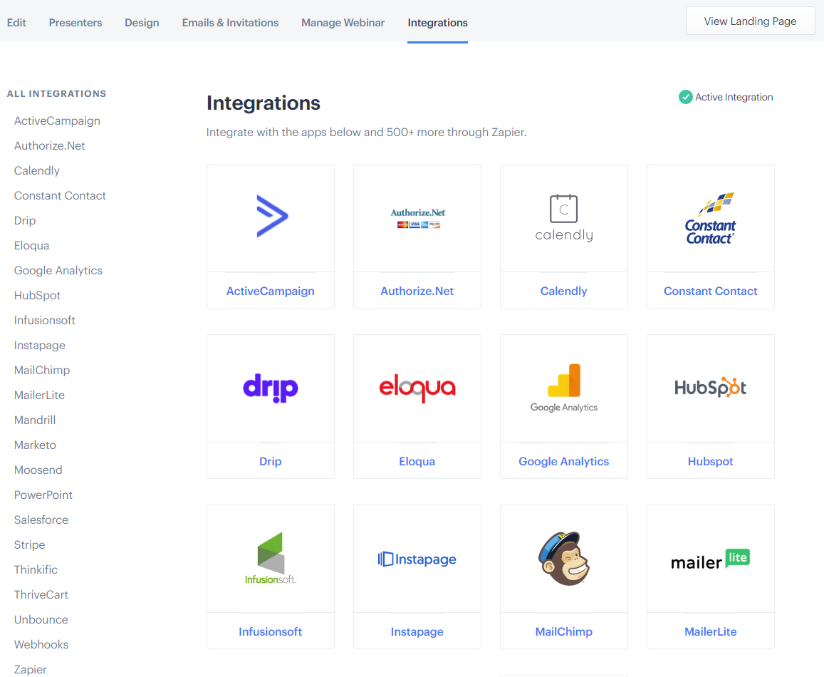 BigMarker - Webinar Integrations
